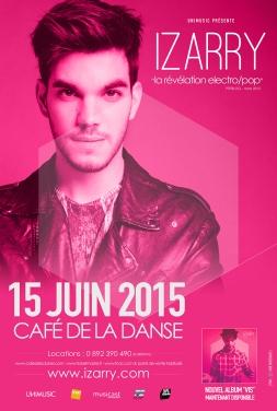 Izarry---Affiche-Concert-Café-de-la-Danse